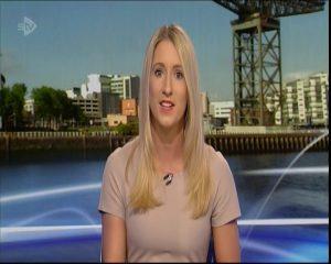 Amy Irons STV Scottish Television Newsreader