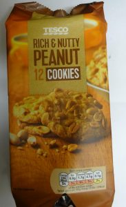tesco rich and nutty peanut cookies 01