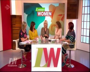 joanna lumley loose women 00032