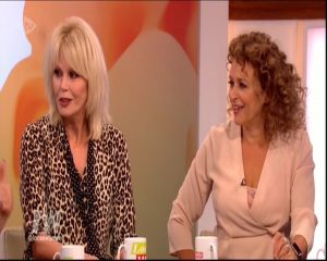 joanna lumley loose women 00041