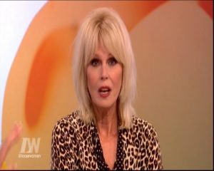 joanna lumley loose women 00043