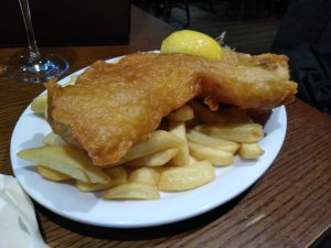 Fish and Chips Beinglas