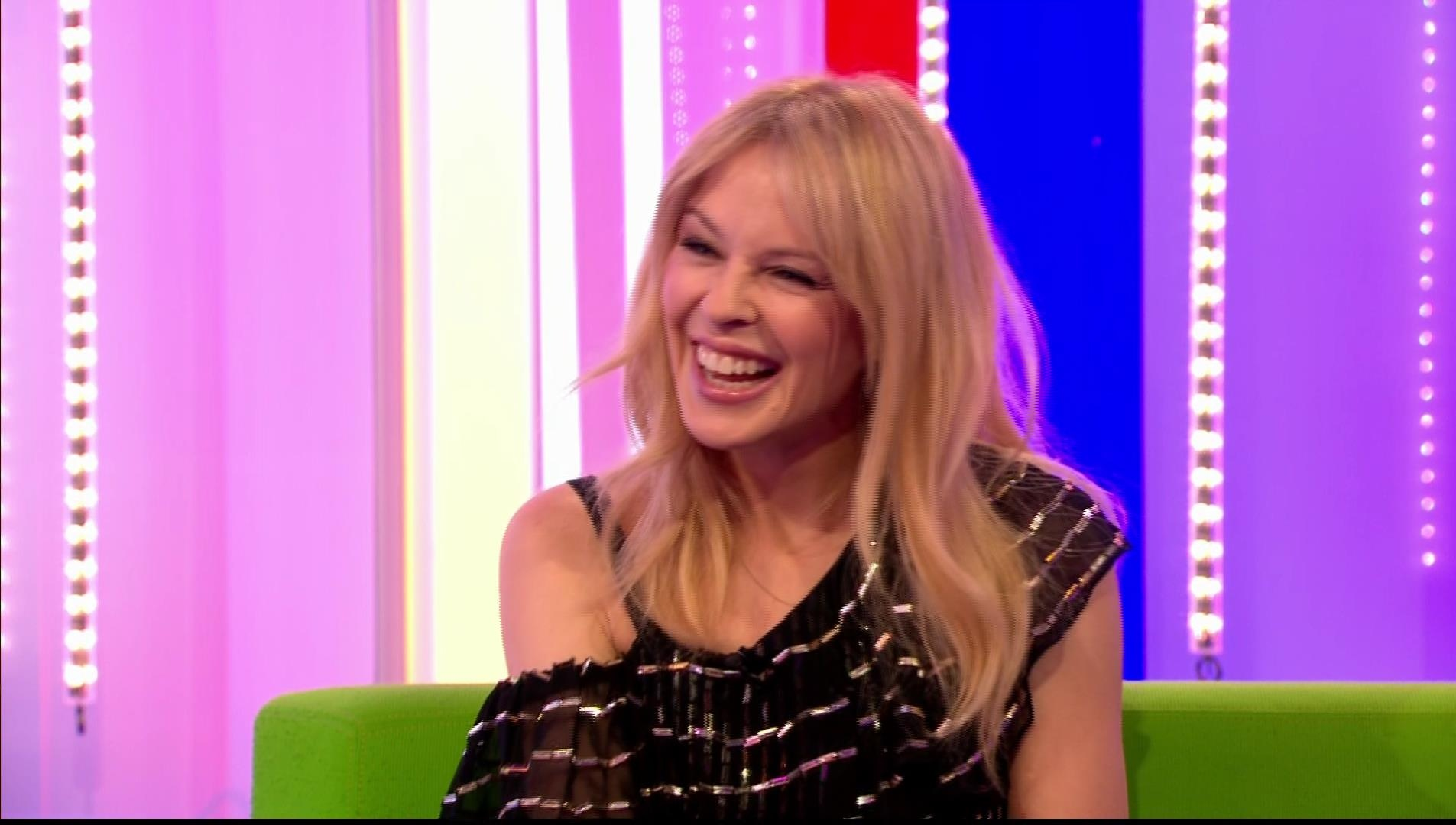 Kylie Minogue at 50 on BBC The One Show