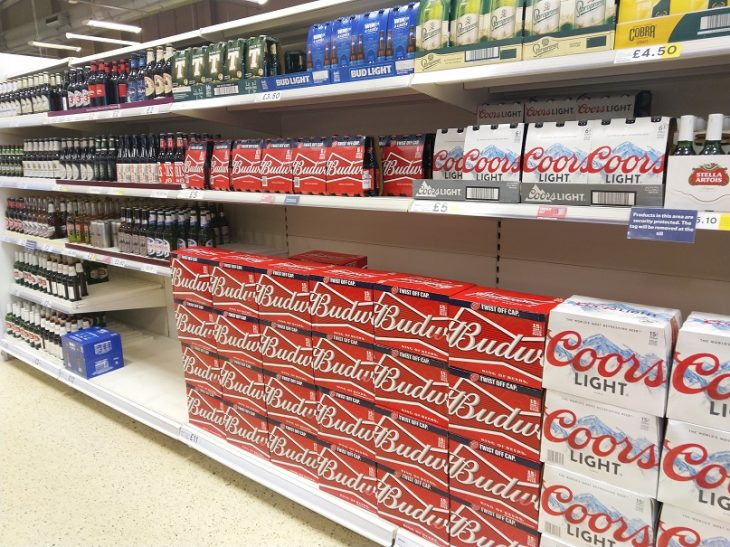 Beer Offers Budweiser Glasgow Maryhill