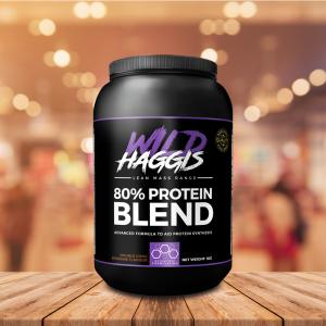 Wild Haggis Protein Powder Container