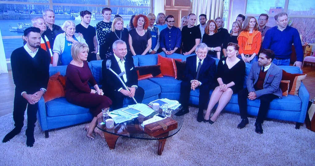 This Morning Cast and Crew grieve at death of Denise Robertson